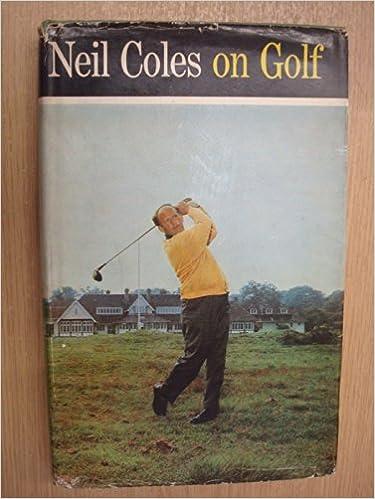 Téléchargement de livres audio sur iphone Neil Coles on Golf PDF DJVU FB2 B002FZOHBG