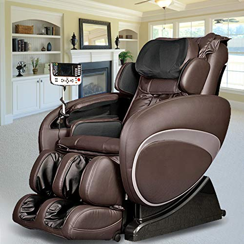 Osaki OS-4000 Zero Gravity Massage Chair, Computer Body Scan, Auto Height Adjustment, and Wireless Remote (Brown)