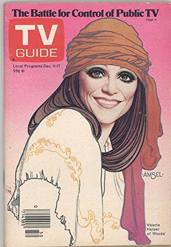 1976 Guide Tv - 1976 TV Guide December 11 - Rhoda; John Davidson; Mitch Ryan; Valerie Harper