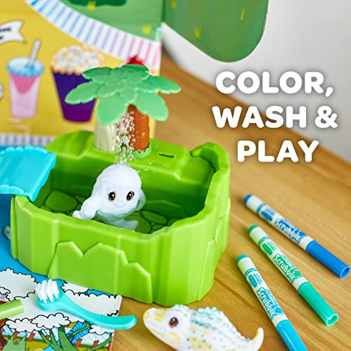 Crayola Scribble Scrubbie Peculiar Zoo, Amazon Exclusive, Kids Toy, Gift for Kids, Ages 3, 4, 5, 6
