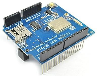 REES52 Wireless / RF / Bluetooth / Zigbee - TI CC3000 Wifi