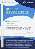 img - for MindTap Business Law, 1 term (6 months) Printed Access Card for Anderson's Business Law and the Legal Environment, Standard Volume, 23rd book / textbook / text book
