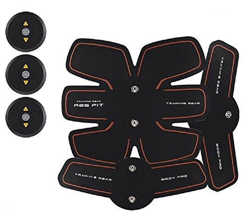YACOCOS Dispositivo de EMS eléctrico Brazo músculos Abdominales Estimulador Exerciser Capacitación Intensiva Fitness...