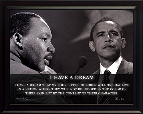 obama martin luther king poster