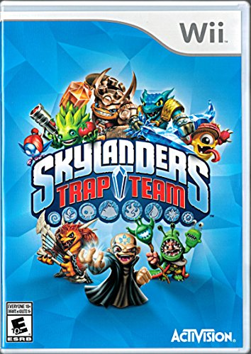 Skylanders Trap Team REPLACEMENT GAME ONLY for Wii (Skylander Wii Trap Game Only Team)