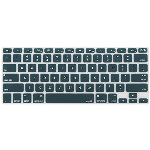 macbook keyboard cover teal - 8