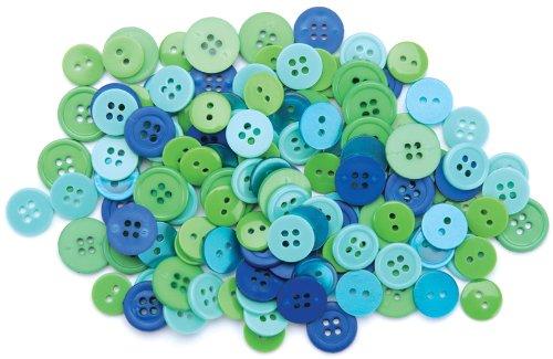 Favorite Findings Buttons (Blumenthal Lansing Favorite Findings Basic Buttons Assorted Sizes, 130/Pkg,)