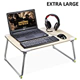 [LARGE SPACE] Sturdy Floor Table, Foldable Bed Laptop Desk, Portable Standing Desk, Kids Breakfast Tray, Multipurpose for Students / Adults Food Study Gaming with PC Laptop-Avantree [2 Year Warranty]