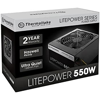 Thermaltake 550 Yes Power Supply (PS-LTP-0550NNCNUS-F)