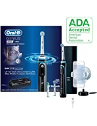 Oral-B 9600 Electric Toothbrush, 3 Brush Heads, Black, Powered by Braun