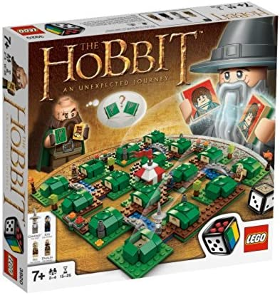 The Hobbit: An Unexpected Journey LEGO 3920 Building Board Game NEW