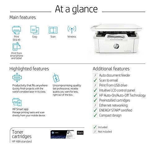 HP Laserjet Pro All-in-One Wireless Printer Mobile
