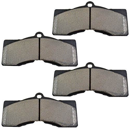 Front or Rear Metallic Disc Brake Pad Set for Chevy Corvette
