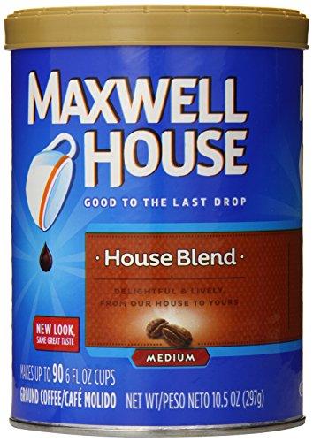 Maxwell Race Ground Coffee, House Blend, 10.5 Ounce