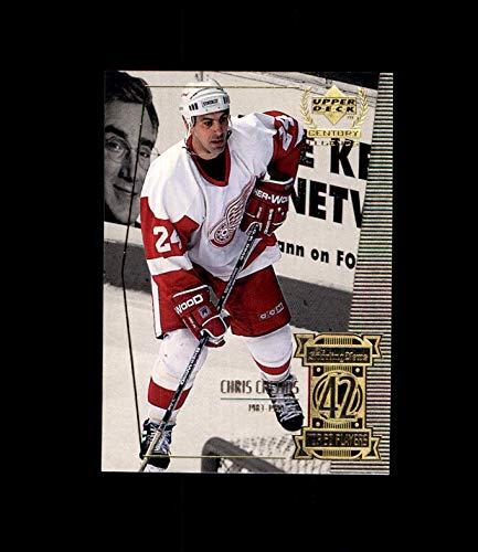 1999-00 Upper Deck Century Legends #42 Chris Chelios DETROIT RED WINGS (Chris Chelios Wings Red)