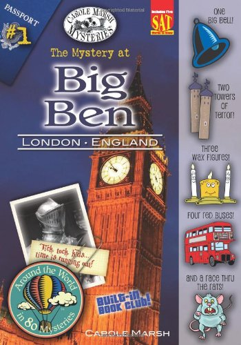 The Mystery at Big Ben (London, England) (1) (Around the World In 80 Mysteries)