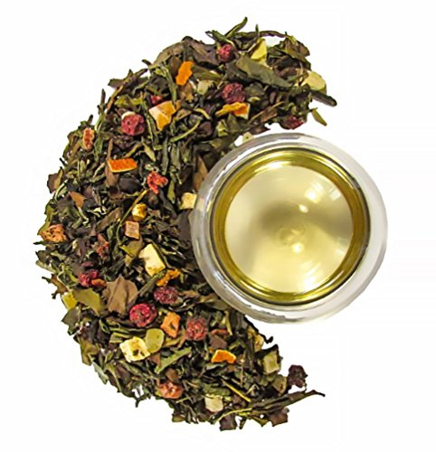 Mahalo Tea Peach Serenity White & Green Tea - Loose Leaf Tea - 2oz by Mahalo Tea (Image #1)