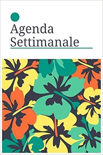 Amazon.com: Agenda settimanale: A5 Agenda settimanale I ...