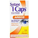 Systane ICAPS Eye Vitamin AREDS, 120 Coated Tablets (Pack of 6)