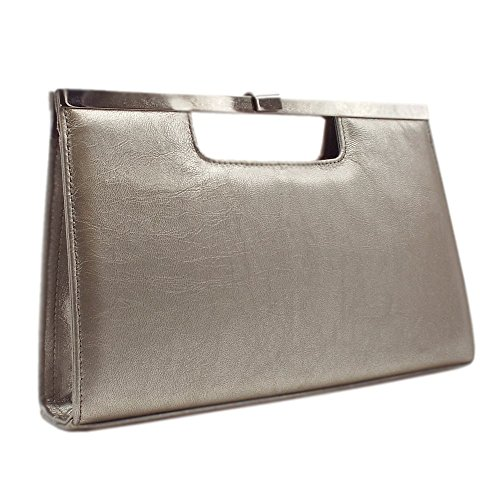 In Peter Wye Bag Furla Kaiser Classic Taupe Evening Clutch FwqYPqv