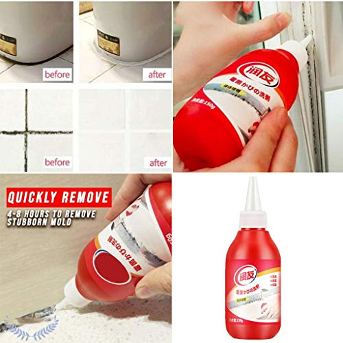 ️ Yu2d ❤️❤️ ️Household Chemical Miracle Deep Down Wall Mold Mildew Remover Cleaner Caulk Gel ()