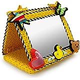 Smile, Baby 2-in-1 Crib & Floor Mirror