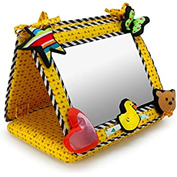 Sassy crib floor mirror