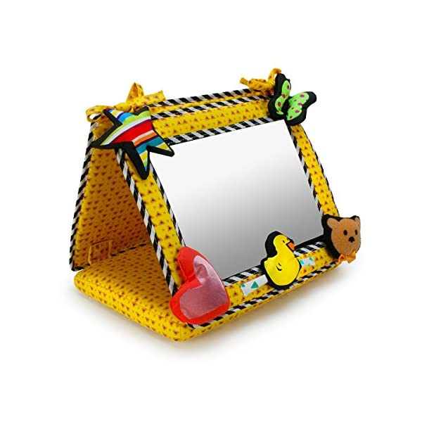 Smile Baby 2-in-1 Crib and Floor Mirror