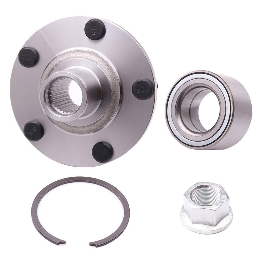 TUPARTS 518516 Wheel Bearing and Hubs Front Compatible with 2002-2006 Nissan Altima 2002-2004 Infiniti I35 2000-2001 Infiniti I30 2000-2008 Nissan Maxima 518516 W//O ABS Sensor