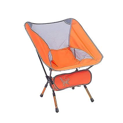 Silla portátil para acampar Altura ajustable, Sillas ...
