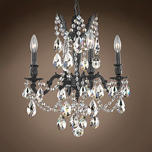 (Joshua Marshal 701578-018 - Traditional Versailles 4 Light 17