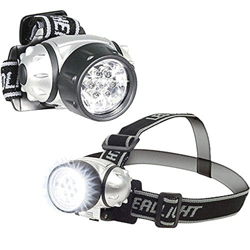 2 Pack: 7 LED Adjustable Head-Lamp with Pivoting - Optics Singapore