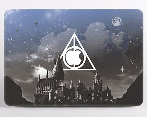 Modo Design Macbook Deathly Hallows Symbol Hogwarts Vinyl Decal Macbook Air  11 12 13 Pro 13 15 Macbook 12 inch Retina Cool Stickers Harry Potter Mac  Book ... 72a5dcc97cae5