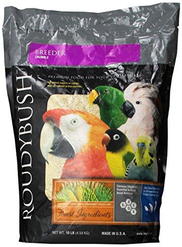 Roudybush Breeder (Roudybush Crumble Breeder Bird Food, 10-Pound)