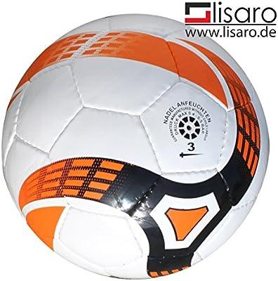 Balón de fútbol sala Talla 3/300 g blanco de naranja/fútbol sala ...