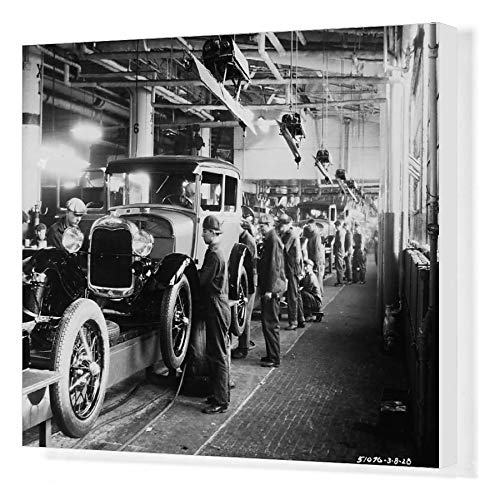 Media Storehouse 20x16 Canvas Print of Ford Factory (19059515)