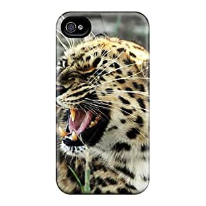 Hot Style SNDAYfy905CRVYX Protective Case Cover For Iphone4/4s(roaring Tiger Widescreen)