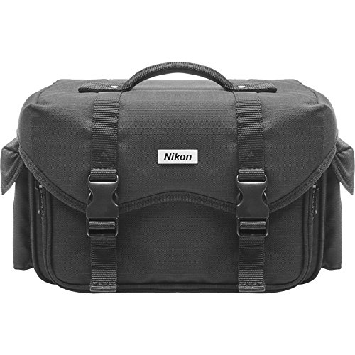 3 Large Slr Camera Bag - Nikon 5874 Deluxe Digital SLR Camera Case - Gadget Bag for DSLR D3, D3x, D3s, D7000, D5000, D3100, D3000, D700, D300s, D90, D60, D40x, D40