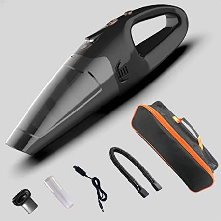 CYX-vacuum cleaner Aspirador de Mano portátil para Auto, Aspirador de Alta Potencia húmedo y seco de Alta Potencia 5600Pa, Adecuado para el hogar/automóvil,Wireless,Bag: Amazon.es: Hogar