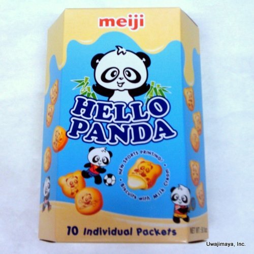 Meiji - Hello Panda Milk Cream Biscuits