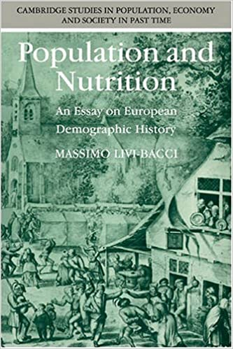 Electronics livres pdf téléchargement gratuit Population and Nutrition: An Essay on European Demographic History (Cambridge Studies in Population, Economy and Society in Past Time) by Massimo Livi-Bacci (1991-02-22) PDF by Massimo Livi-Bacci B01JXOJONC