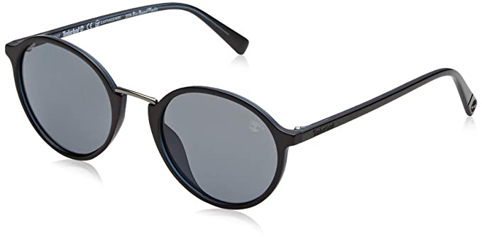 Timberland TB9160 Gafas de sol, Negro (Shiny Black/Smoke ...