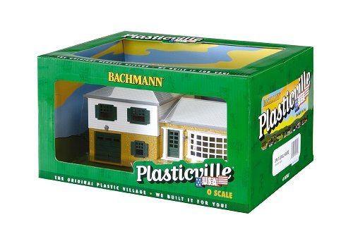 Bachmann Industries Pre-Assembled Split Level House Set, O Scale (House Kit Split Level)