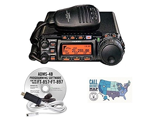 Yaesu FT-857D HF/VHF/UHF 100W Ultra Compact Mobile for sale  Delivered anywhere in USA