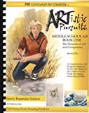 ARTistic Pursuits Middle School 6-8 Book One, The Elements of Art and Composition (ARTistic Pursuits) by Brenda Ellis (2013) Plastic Comb
