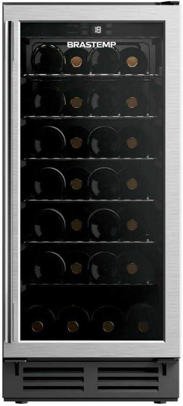 Adega Brastemp 28 Garrafas com painel eletrônico - 110V
