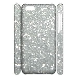 Silver Bling Personalized 3D Cover Case for iphone 6 plus 5.5,customized phone case ygtg593455