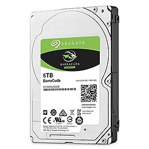 Seagate BarraCuda 5TB Internal Hard Drive HDD – 2.5 Inch SATA 6Gb/s 5400 RPM 128MB Cache for Computer Desktop PC…