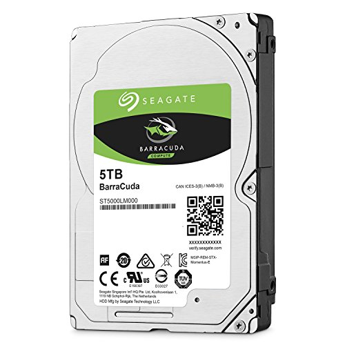 Seagate 5TB Barracuda Sata 6GB/s 128MB Cache 2.5-Inch 15mm Internal Bare/OEM Hard Drive (ST5000LM000) by Seagate (Image #3)'