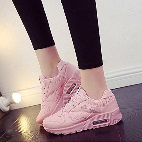 Lace Stiefel Sneaker schuhe Wohnungen Rosa Freizeitschuhe Damen Schuhe Damen Schuh Mode up Milktea Outdoor Damen Wanderschuhe aBFnAqSwS